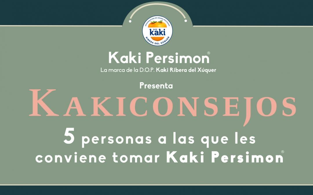 Kakiconsejos – 5 personas a las que les conviene tomar Kaki Persimon®